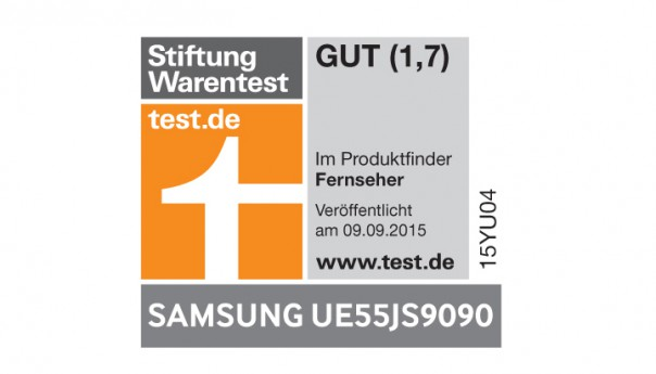 stiftung warentest 13 mal gut f r samsung tvs. Black Bedroom Furniture Sets. Home Design Ideas